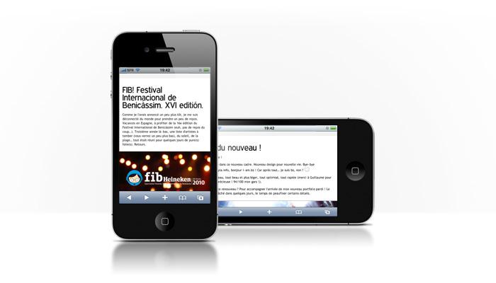 i-am.bz. blog! sur iPhone!