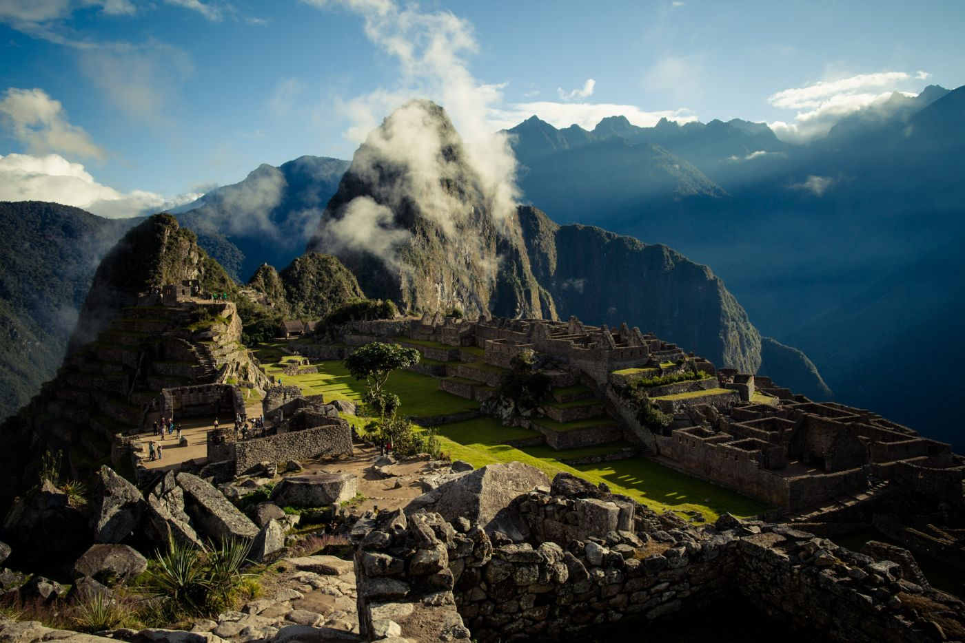 Machu Picchu at Sunrise, Salkantay Trek, Peru
