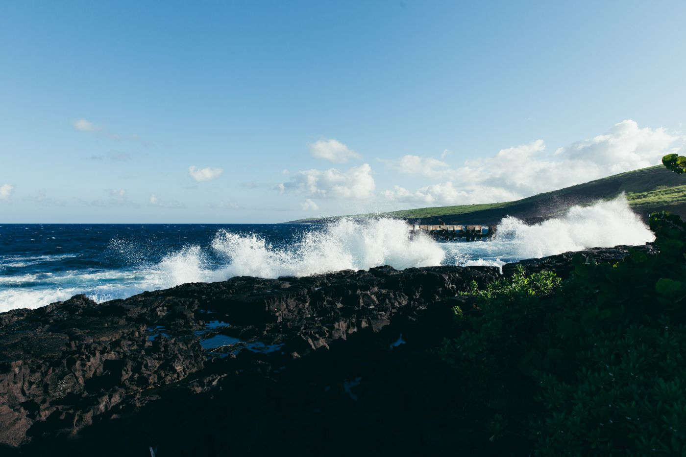 Whittington Beach Park and Honu'apo Bay, Big Island, Hawaii