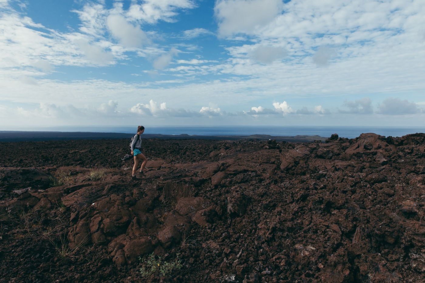 Hike, Ocean View, Big Island, Hawaii