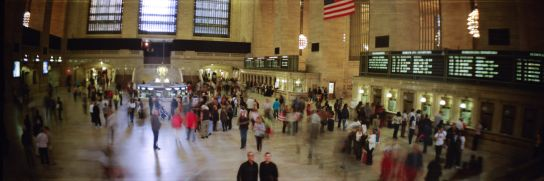 Le fameux hall de Grand Central Terminal, vu dans approximativement 3.856 films.