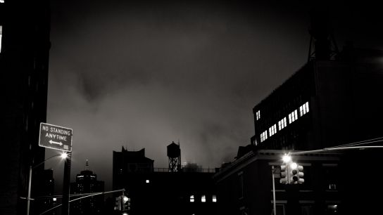 Leaving the Terminal5, the heart of New York seems to have disappeared in that thick smoke…