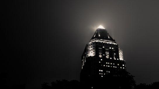 La diffusion de la lumière était particulièrement magnifique ce soir-là…