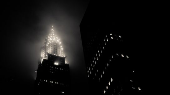 Oh…my beautiful and misty Chrysler…