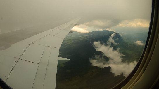 Atterrissage à Bogota