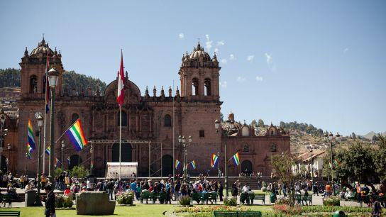 Plaza De Armas, jour de fête!