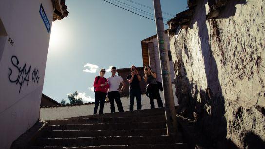 La team de touristes:)