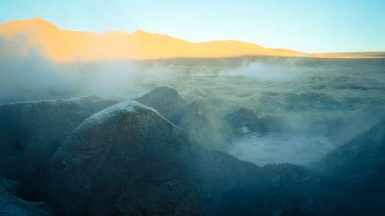Geysers de Sol de Mañana, Bolivie
