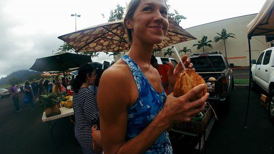 Kiku'i Grove Farmer's Market, Lihu'e, Kaua'i, Hawai'i