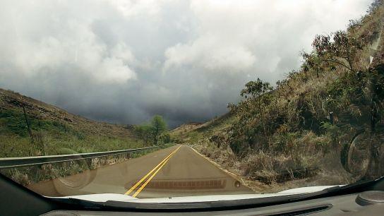 Route vers Waimea Canyon et Koke'e State Park, Kaua'i, Hawaii