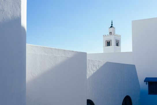 Tunisia. Shades of White.
