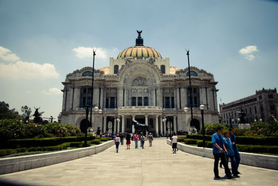 Palacio de Bellas Artes, Centre Historique, Mexico City, Mexique