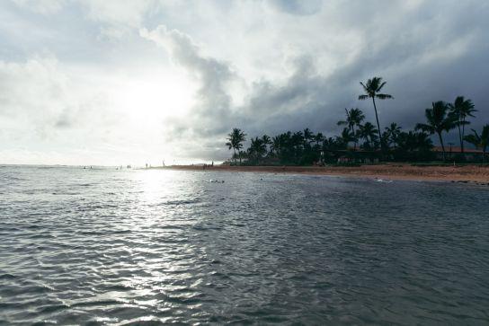Poi'pu Beach, Kaua'i, Hawai'i