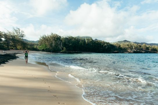 Maha'ulepu, Kaua'i, Hawai'i