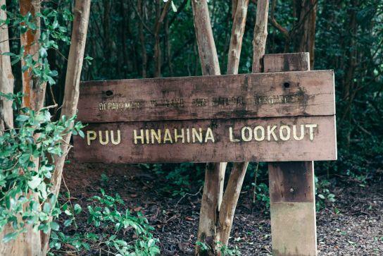 Puu Hinahina Lookout, Waimea Canyon et Koke'e State Park, Kaua'i, Hawaii
