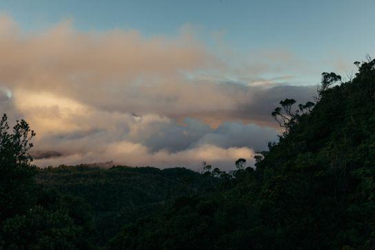 Coucher de Soleil, Koke'e State Park, Kaua'i, Hawaii