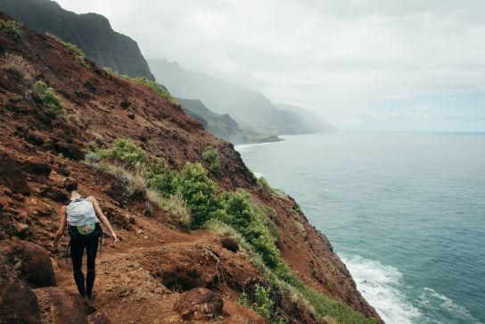 Kalalau Valley, Kalalau Trail, Kaua'i, Hawaii