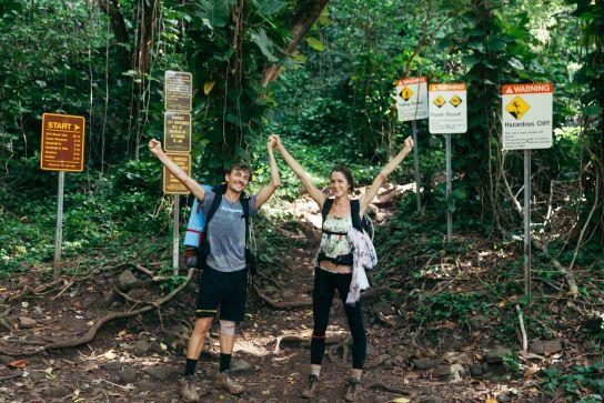 Kalalau Trail, Kaua'i, Hawaii