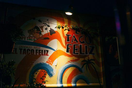 El Taco Feliz, Kapaa, Kauai, Hawaii