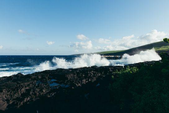 Whittington Beach Park and Honu'apo Bay, Big Island, Hawaii
