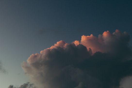 Clouds, South Point, Big Island, Hawaii