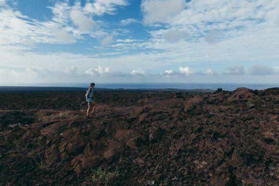 Hike, Ocean View, Big Island, Hawaii