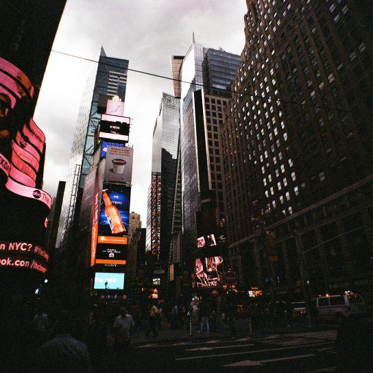 Times Square au Diana.