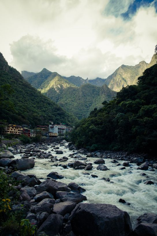 From the train station to Aguas Calientes…