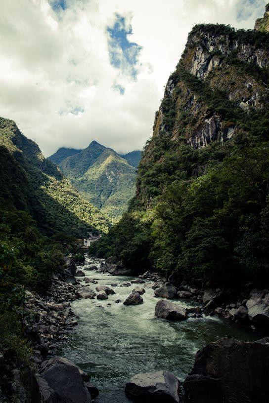 Aguas Calientes, Salkantay Trek, Peru