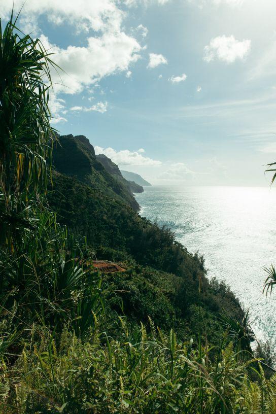 Na Pali Coast, Kalalau Trail, Kaua'i, Hawaii