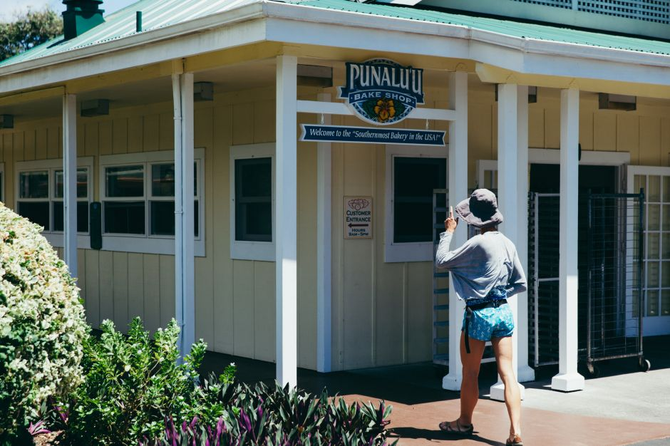 Punaluu Bake Shop, Big Island, Hawaii